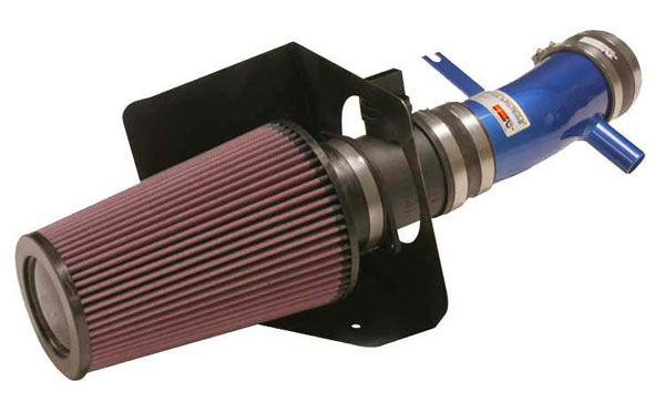 K&N Filter 699502TB | K&N Typhoon Air Intake System For Vw Golf R32 (sr); Blue; 2002-2004