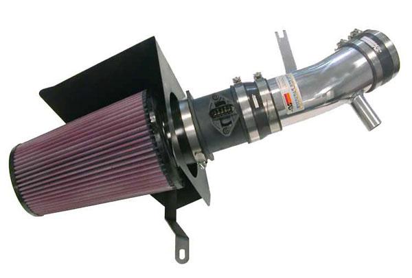 K&N Filter 69-9502TP | K&N Typhoon Air Intake System For Vw Golf R32 (sr) 2004; Polished
