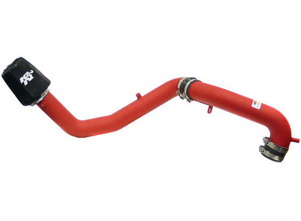 K&N Filter 699750TWR: K&N Typhoon Air Intake System For (eu) volkswagen Polo L4-1.6l 1999-2003 Wrinkle Red