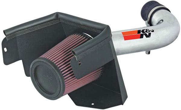 K&N Filter 77-1553KP | K&N 77 High Performance Air Intake System For Jeep Wrangler V6-3.8l 07-09
