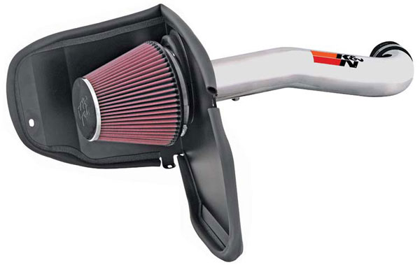 K&N Filter 77-1559KP | K&N High Performance Air Intake System For Jeep Liberty V6-3.7L; 2008-2009