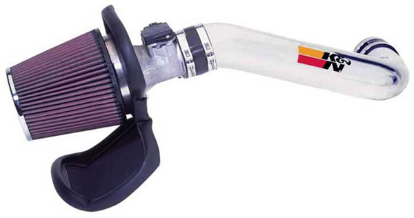 K&N Filter 77-2552KP: K&N 77 High Performance Air Intake System For Ford Ranger L4-2.3l 01-03; Polished
