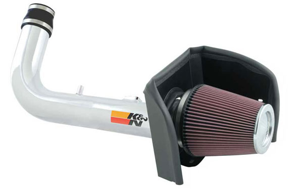K&N Filter 77-2569KP | K&N 77 High Performance Air Intake System For Ford F-150 V8-4.6l 2006