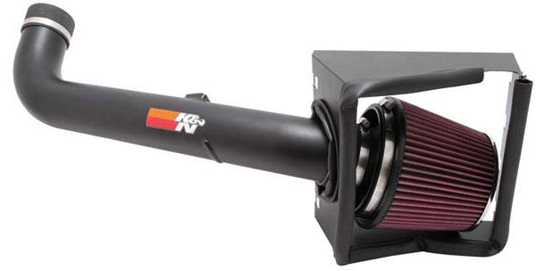 K&N Filter 772577KTK | K&N 77 High Performance Air Intake System For Ford F-250 Sd 5.4l V8 07-10