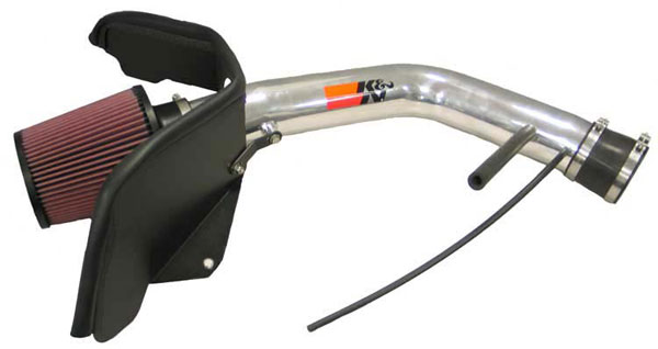 K&N Filter 77-3036KP: K&N 77 High Performance Air Intake System For Bravada L6-4.2l 02-05 Polished