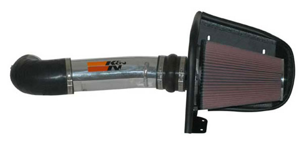 K&N Filter 77-6012KP | K&N 77 High Performance Air Intake System For Nissan Titan / path / titan / qx56 V8-5.6l 04-10