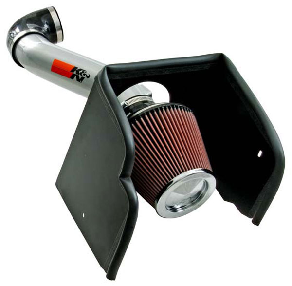 K&N Filter 776016KS: K&N 77 High Performance Air Intake System For Nissan Pathfinder V8-5.6l 2008