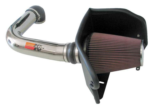 K&N Filter 77-2556KP: K&N 77 Series High Flow Intake Kit For Ford Expedition 2005-2005 (F-150) 5.4L