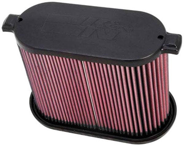 K&N Filter E0785 | K&N Air Filter For Ford F250 Super Duty 6.4L; 2008-2010