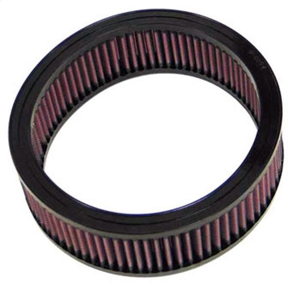K&N Filter E1025 | K&N Air Filter For Pontiac Fiero L4-2.5L; 1984-1988