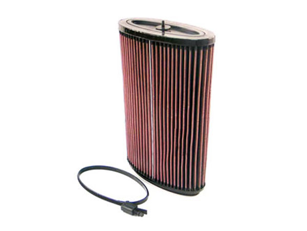 K&N Filter E2295: K&N Air Filter For Porsche Boxster 2.7l-f6 & 3.2l-f6; 2005-06