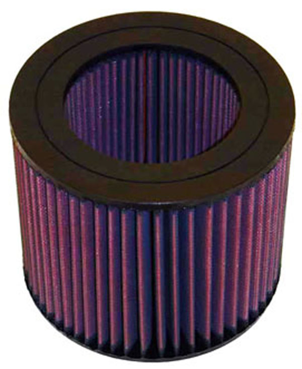 K&N Filter E2443: K&N Air Filter For Toyota Land Cruiser 1993-97