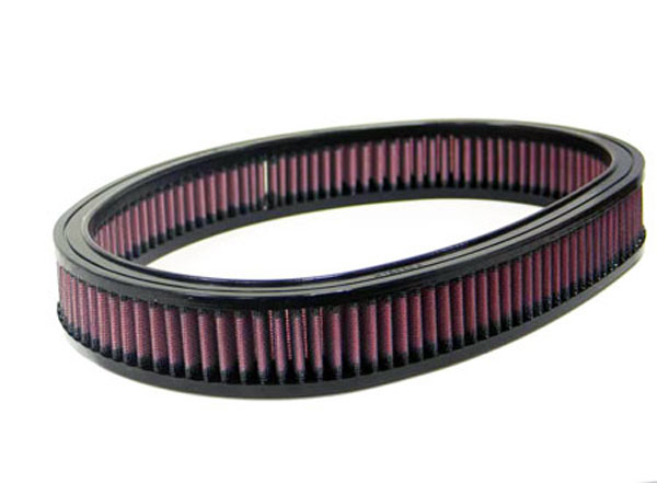 K&N Filter E9090: K&N Air Filter For Ford Fiesta 1.3l Ohv Carb & Cfi; 1991-92