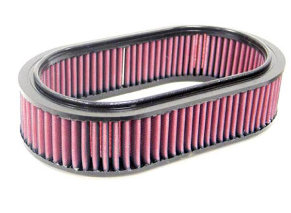 K&N Filter E9166 | K&N Air Filter For Mercedes A0020946204 / C37145; 1976-1985