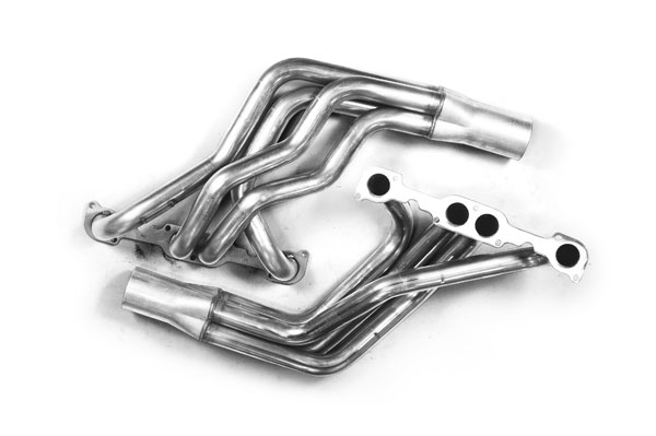 Kooks Headers 10621600 |  Ford Mustang with a Small Block Chevy Engine and Specialty Heads; 1979-1993