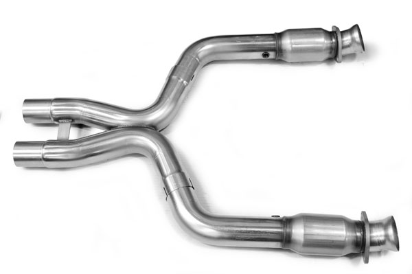 Kooks Headers 11323200: Kooks Catted X-Pipe 2006-2010 Ford Shelby GT-500 5.4L 4V