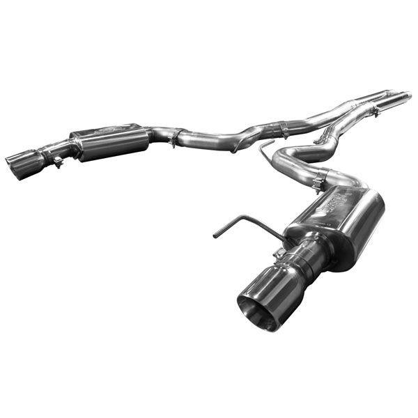 Kooks Headers 11514400: Kooks 2015 Ford Mustang GT 5.0L OEM to 3'' Stainless Steel Cat Back Exhaust w/ H-Pipe & Polished Tips