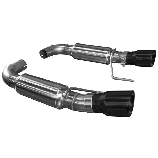 Kooks Headers 11516210 | Kooks 2015 Ford Mustang GT 5.0L OEM to 3'' Stainless Steel Axle Back Exhaust w/Black Tips