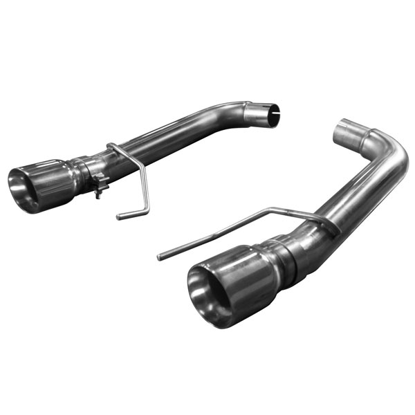 Kooks Headers 11516400: Kooks 2015 Ford Mustang GT 5.0L OEM to 3'' Stainless Steel Axle Back Exhaust w/Muffler Deletes & Polished Tips