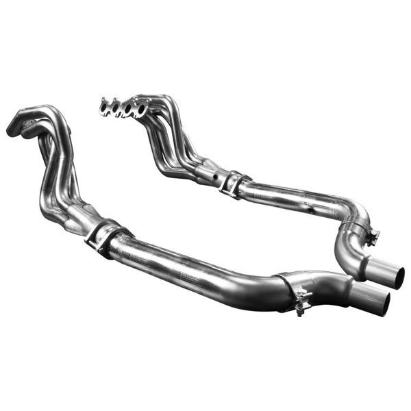 Kooks Headers 1151H410 | Kooks 2015 Ford Mustang GT 5.0L 1 7/8'' x 3'' Stainless Steel Long Tube Header w/ Off Road (Non-Catted) Connection Pipe