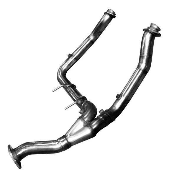 Kooks Headers 13533100: Kooks Off-Road Y-Pipe 2011-2014 Ford F150 Eco Boost 3.5L V6
