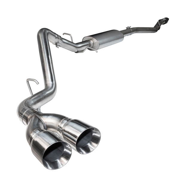 Kooks Headers 13614100   Ford F150 Coyote 5.0L 4V 144.5 and 156.6 WB Trucks OEM x 3in Catback Exhaust With Polished Tips; 2015-2019