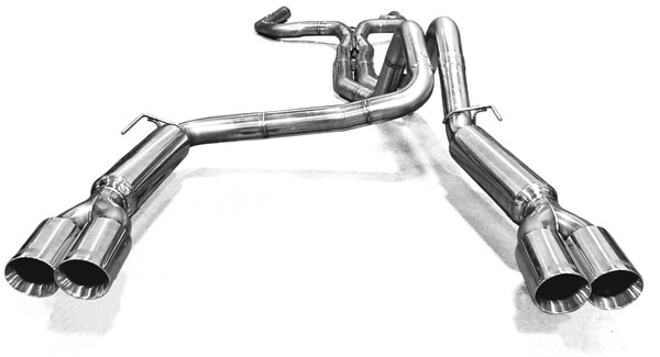 Kooks Headers 22405100: Kooks Exhaust System with Off-Road X-pipe 1993-1997 Pontiac Firebird LT1 5.7L