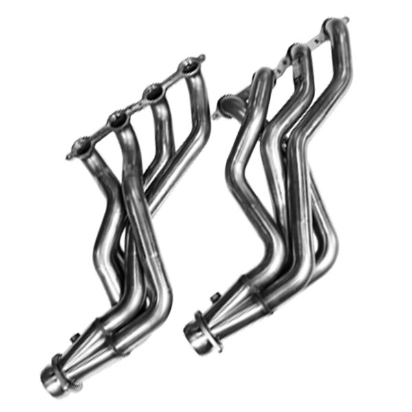 Kooks Headers 25202400 |  Caprice PPVGM LS Engine 1 7/8 x 3in Longtube Headers with Merge Collector and Bungs; 2011-2017