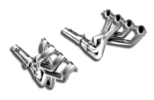 Kooks Headers 2250H410 | Kooks Longtube Headers Camaro SS LS3 6.2L, 1 7/8 x 3 includes 3 x 2 1/2 Off-Road Pipe, for an OEM Connection; 2010-2015