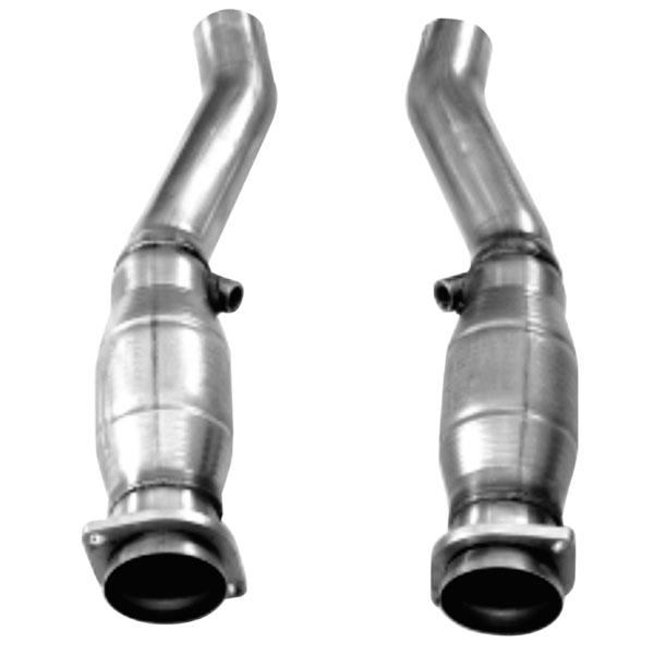 Kooks Headers 23103350 | Kooks GREEN Catted Connection Pipes 2004-2007 Cadilliac CTS-V 5.7L/6.0L LS6/LS3