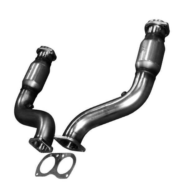 Kooks Headers 24123300 | Kooks GREEN Catted Connection Pipes 2005-2006 Pontiac GTO 6.0L LS2