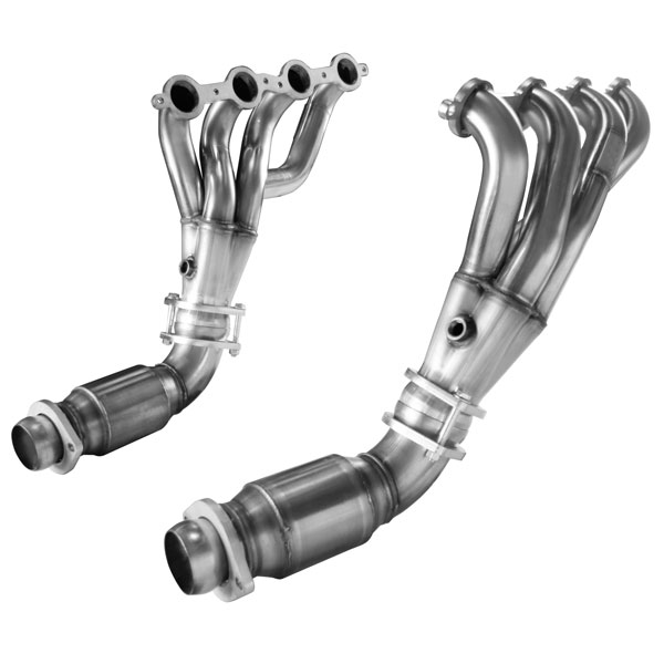 Kooks Headers 24201430: Kooks Shorty Header with GREEN Catted Connection Pipes 2008-2009 Pontiac G8 GT/GXP 6.0L LS2/LS3