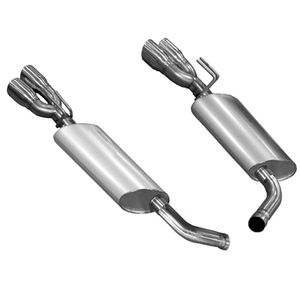 Kooks Headers 25106100: Kooks Axle-back Exhaust 2014 Chevrolet SS 6.2L