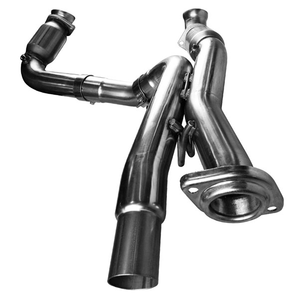 Kooks Headers 28523200 | Kooks Catted Connection Pipes GM 1500 Series 6.0L Dual Exhaust; 2001-2006