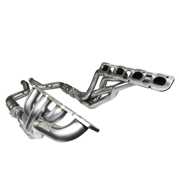 Kooks Headers 3101H420 | Dodge Challenger SRT8 1 7/8 x 3in Headers and 3in x 2 3/4in (OEM) Outlet Catted Connection Pipes; 2008-2016