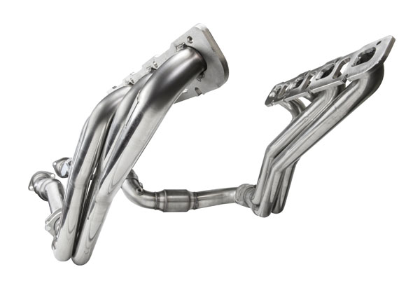 Kooks Headers 3400H420 |  Jeep SRT8 6.1L 1 7/8 x 3in Longtube Headers and 3in Inlet x 3in OEM Outlet Catted Connection Pipes; 2006-2010