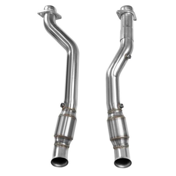 Kooks Headers 34103201 | Kooks Dodge Durango SRT8 Catted Connection Pipes 6.4L; 2012-2020