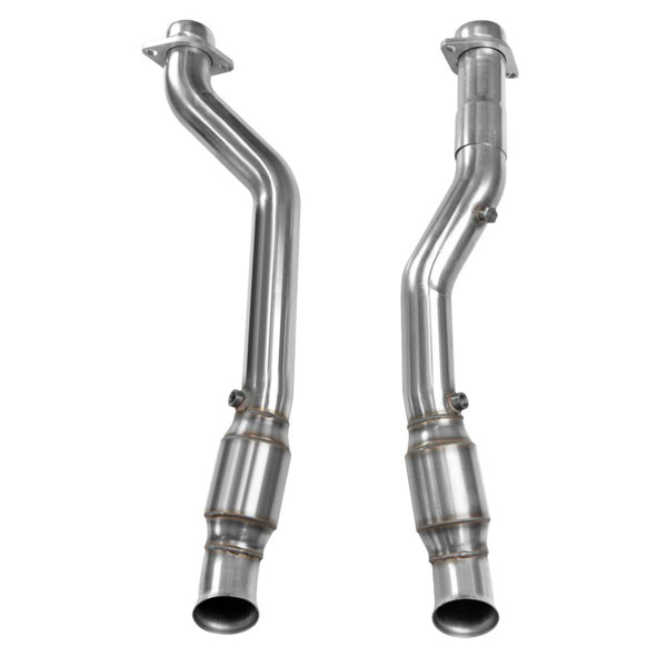 Kooks Headers 34103301 | Kooks Jeep Grand Cherokee SRT8 GREEN Catted Connection Pipes 6.4L; 2012-2018