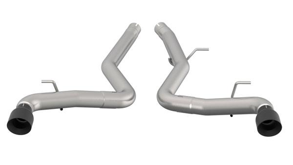 Kooks Headers 44116210   Kooks Toyota Supra 3in SS Muffler Delete Axle Back Exhaust w/Black Tips; 2020-2020