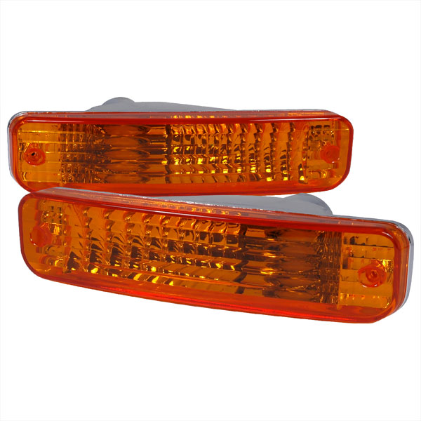 Spec-D Tuning LB-INT90AM-RS: Spec-D 90-91 Acura Integra Bumper Lights -amber (lb-int90am-rs)