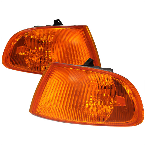 Spec-D Tuning LC-CV923AM-RS: Spec-D 92-95 Honda Civic 3dr Corner Lights (lc-cv923am-rs)