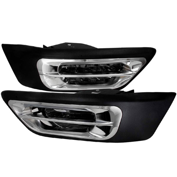 Spec-D Tuning LF-CRV02GOEM-WJ: Spec-D 02-04 Honda Cr-v Oem Fog Lights - Smoke