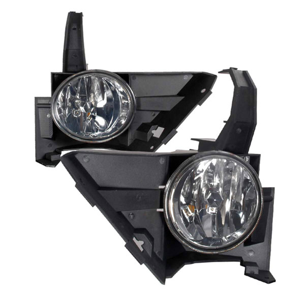 Spec-D Tuning LF-CRV05G-WJ: Spec-D 05-06 Honda Cr-v Oem Fog Lights - Smoke