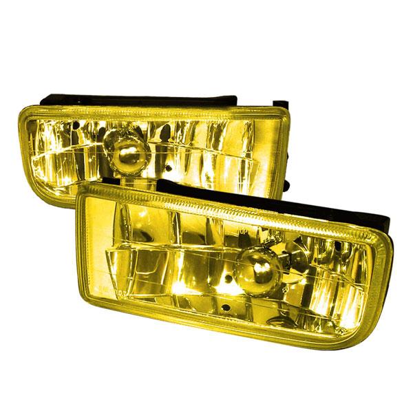 Spec-D Tuning LF-E3692AM | Spec-D 92-98 Bmw E36 3-Series Foglights Yellow