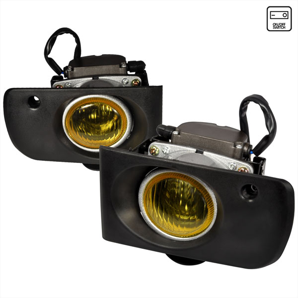 Spec-D Tuning (LF-INT94AMOEM)  Acura Integra 2/4 Door Oe Style Fog Lights Yellow, 94-97