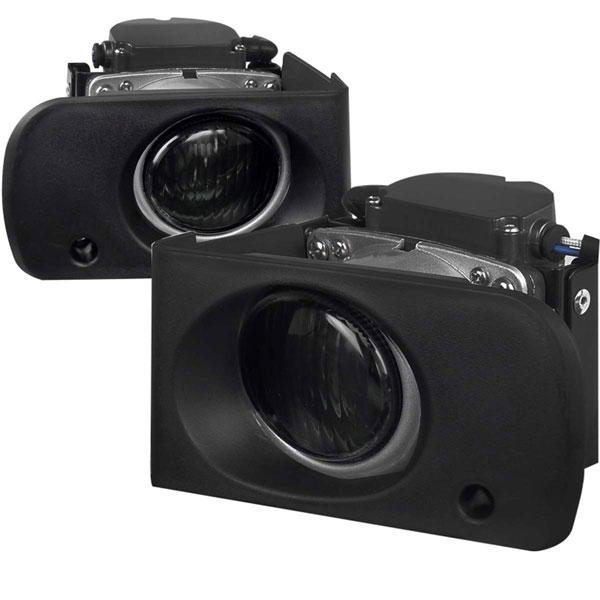 Spec-D Tuning LF-INT94GOEM |  Acura Integra Oem Style Smoked Lens Foglight, 94-01