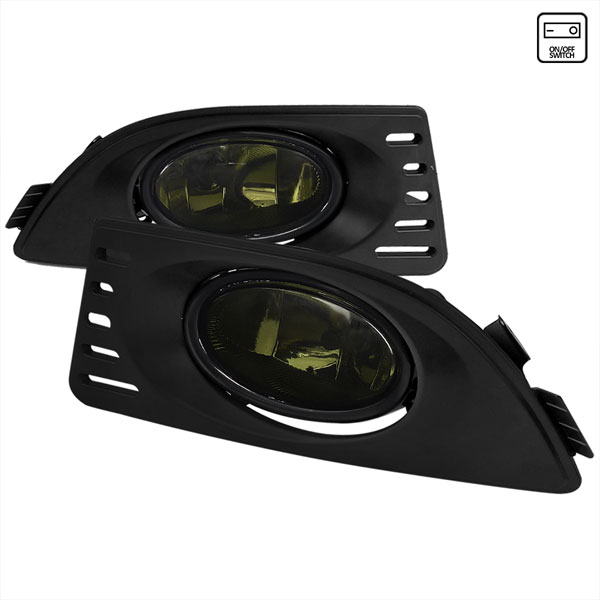 Spec-D Tuning (LF-RSX06GOEM-RS)  Acura Rsx Oem Style Fog Lights Smoke, 05-06
