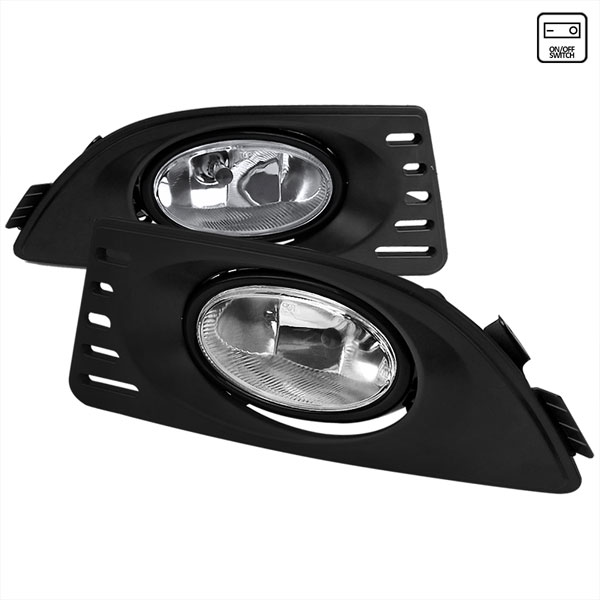 Spec-D Tuning LF-RSX06OEM-RS    Acura Rsx Oem Style Clear Fog Light; 2005-2006