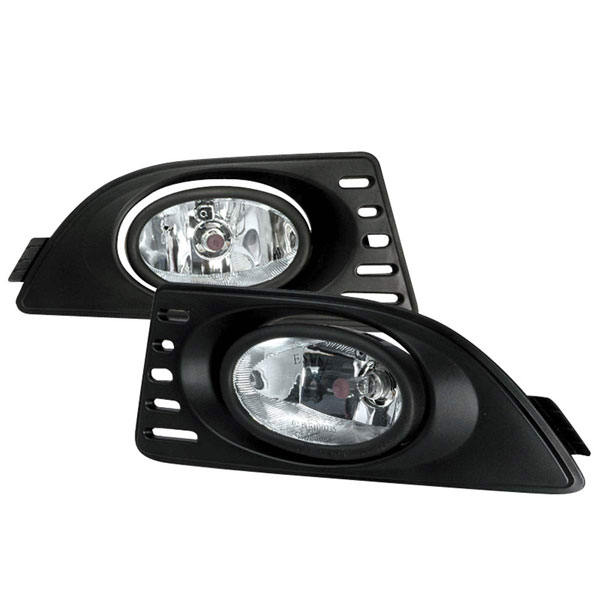 Spec-D Tuning LF-RSX06OEM: Spec-D 06-up acura Rsx Oem Clear Fog Lights