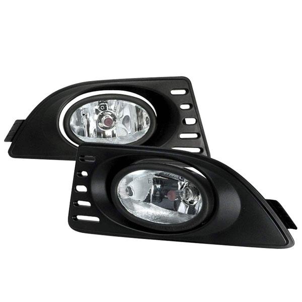 Spec-D Tuning LF-RSX06OEM   Spec-D 06-Up Acura Rsx Oem Clear Fog Lights